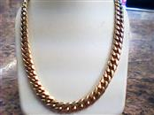 """20"""" Gold Link Chain 10K Yellow Gold 29.34dwt"""